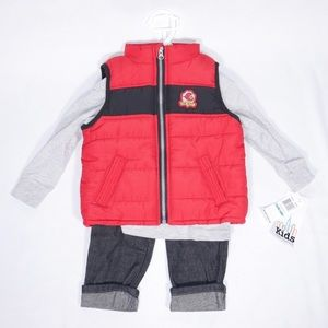 Kids Headquarters Baby Boy's Outfit Vest 18M New